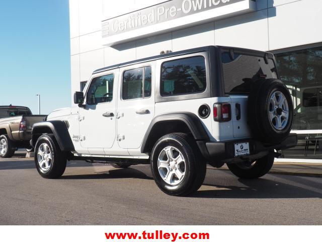 Pre-Owned 2019 Jeep Wrangler Unlimited Sport S 4x4