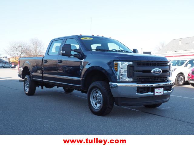 Pre-Owned 2018 Ford Super Duty F-350 SRW XL 4WD Crew Cab 8' Box