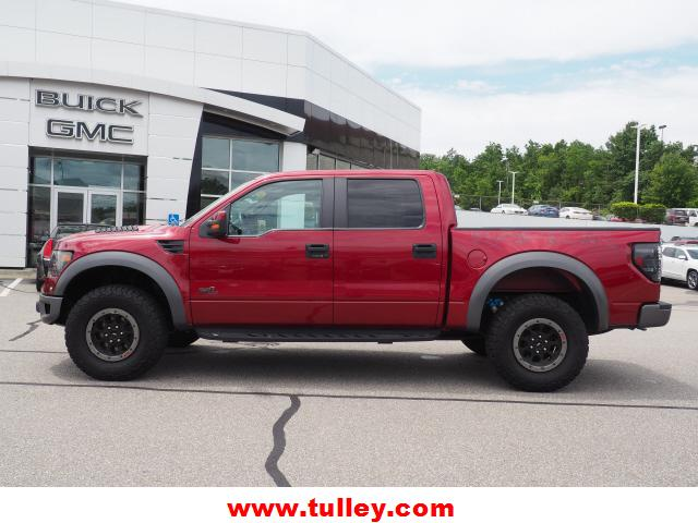 Pre-Owned 2014 Ford F-150 4WD SuperCrew 145 SVT Raptor