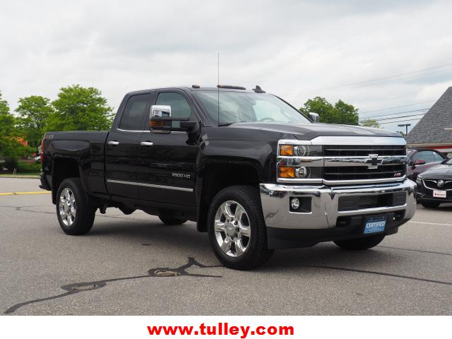 Pre-Owned 2018 Chevrolet Silverado 2500HD 4WD Double Cab 144.2 LTZ