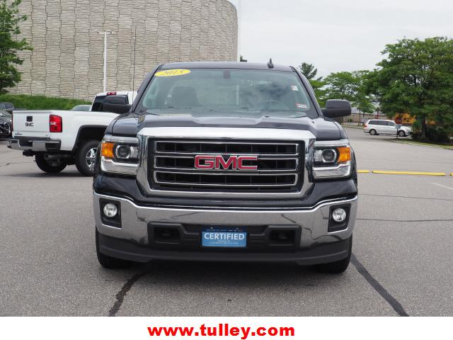 Pre-Owned 2015 GMC Sierra 1500 4WD Double Cab 143.5 SLE