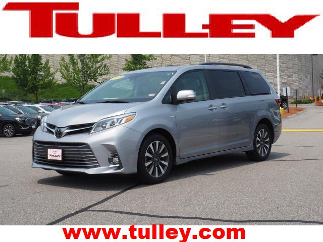 Pre Owned 2018 Toyota Sienna Limited Awd 7 Penger