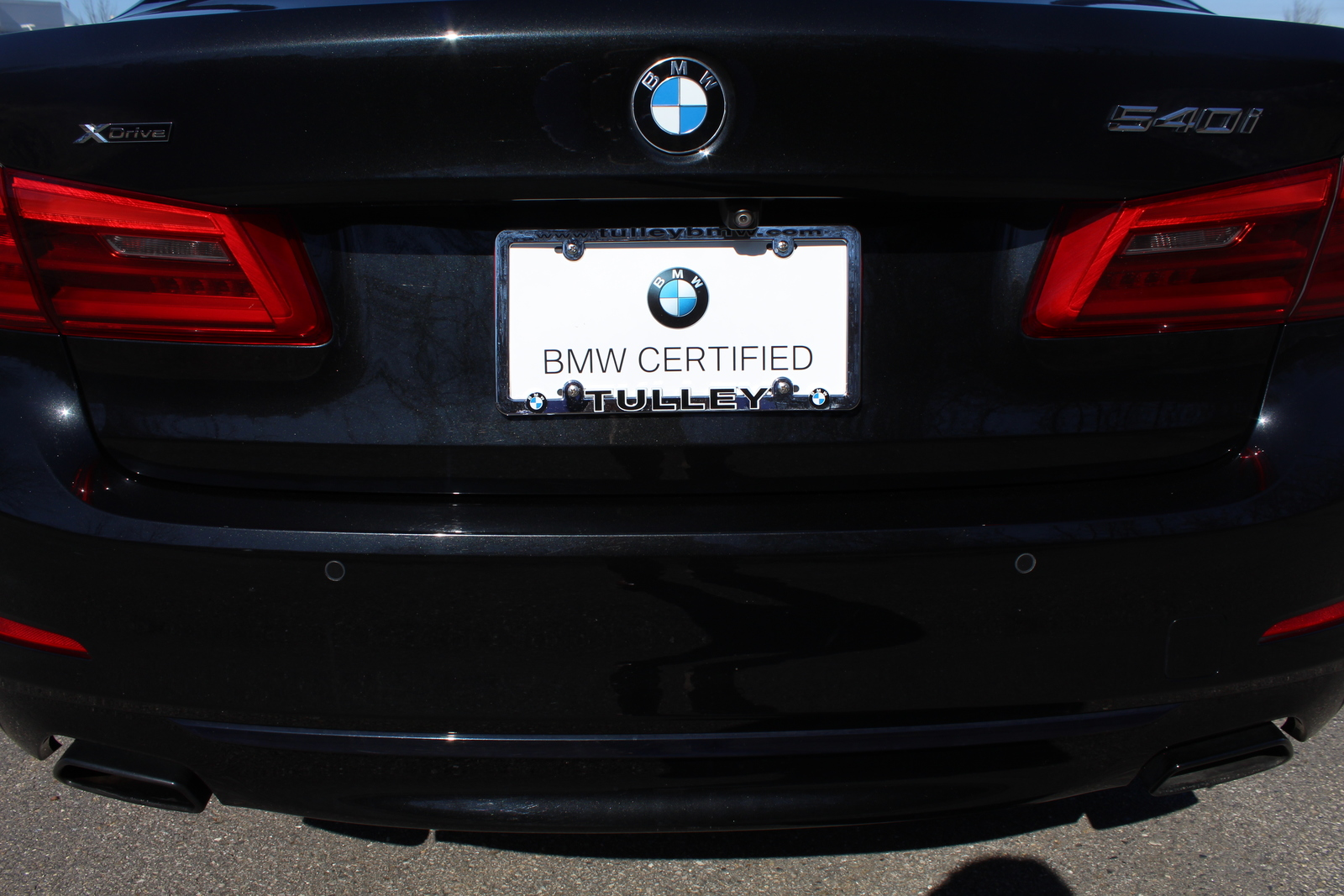 Certified Pre-Owned 2017 BMW 5 Series 540i xDrive Sedan