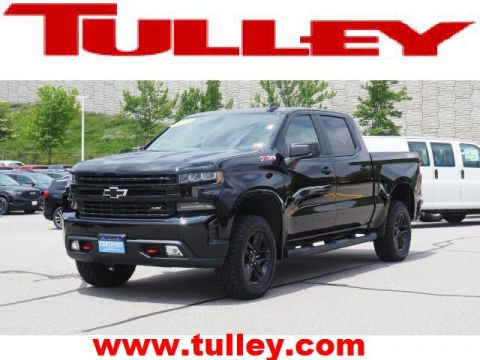 Pre-Owned 2019 Chevrolet Silverado 1500 4WD Crew Cab 147 LT Trail Boss