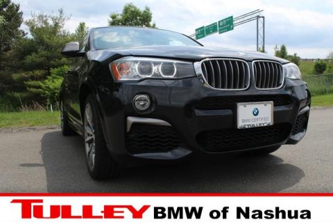 Certified Pre-Owned 2017 BMW X4 M40i Sports Activity Coupe