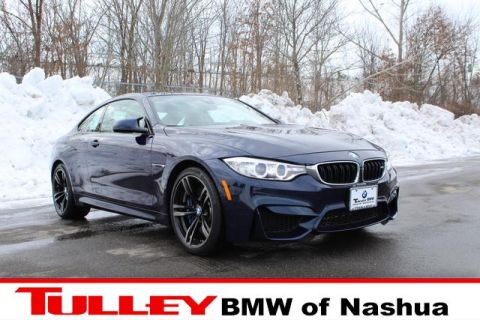 Certified Pre-Owned 2017 BMW M4 Coupe